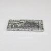 "Подвеска ""Кот на окошке"" (цвет - античное серебро) 32х22 мм"