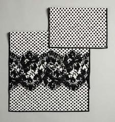 Набор полотенец 2шт Luna di Giorno 2324 white-black