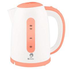 Чайник электрический 1,7л ВАСИЛИСА Т15-2200 белый с коралловым