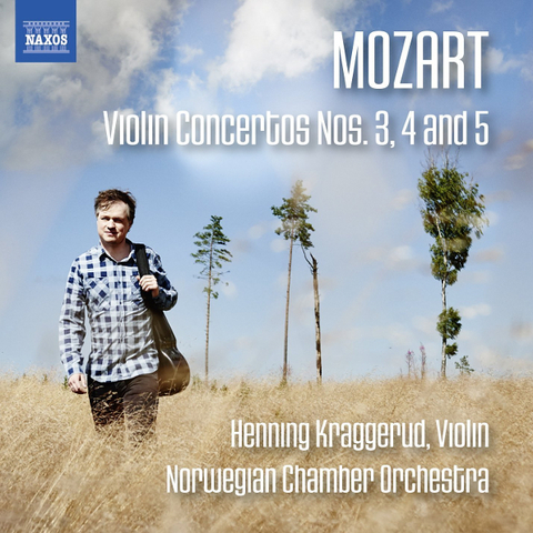 Henning Kraggerud, Norwegian Chamber Orchestra / Mozart: Violin Concertos Nos. 3, 4 And 5 (CD)
