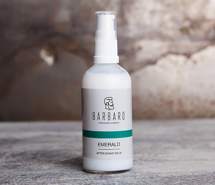 RAZ1048 Бальзам после бритья EMERALD от бренда Barbaro (100 мл)