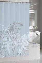 Шторка для ванной 183х183 Kassatex Willow Spa Blue