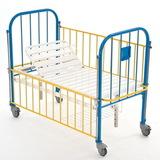 КМФД-7310 Голубой Кровать 2-х секционная детская с регулировкой высоты и наклона ложа