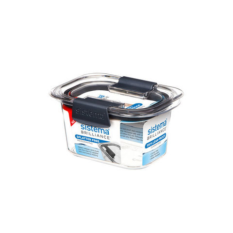 Герметичный контейнер из тритана Brilliance, 380 мл, артикул 55105, производитель - Sistema