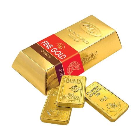 Набор из шоколада Слитки Золотой Стандарт 60г/16шт 60% какао 0189