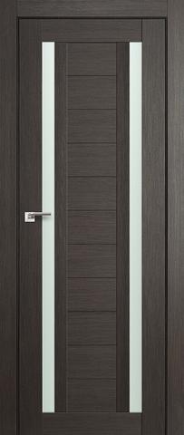 > Экошпон Profil Doors №15X-Модерн, стекло матовое, цвет грей мелинга, остекленная