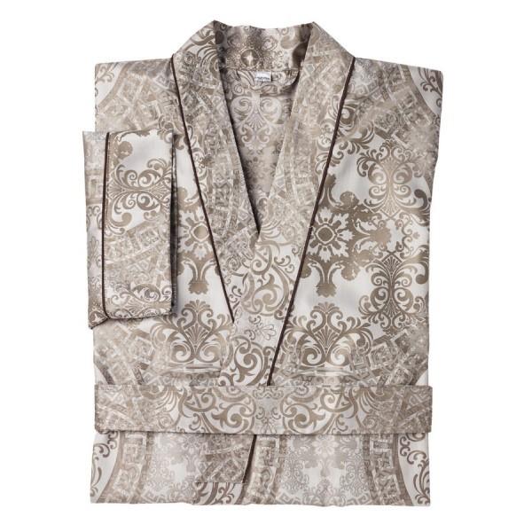 Элитный халат сатиновый Odyssa серый от Curt Bauer