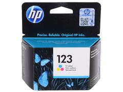 Картридж HP 123 цветной