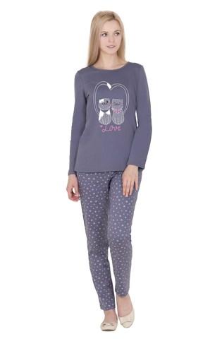 Пижама трикотажная с брюками