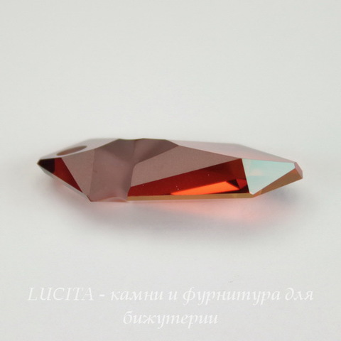6913 Подвеска Сваровски Kaputt Crystal Red Magma (28 мм)