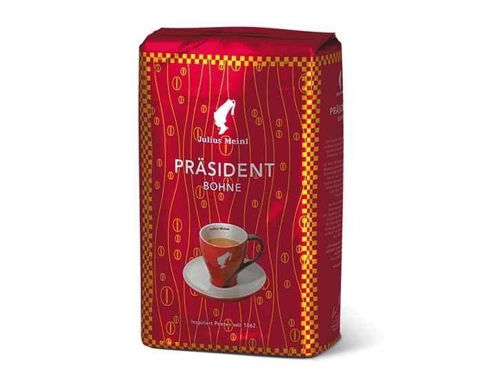 Кофе в зернах Julius Meinl President, 500 г (Юлиус Майнл)