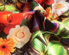 Цветы яркие 01