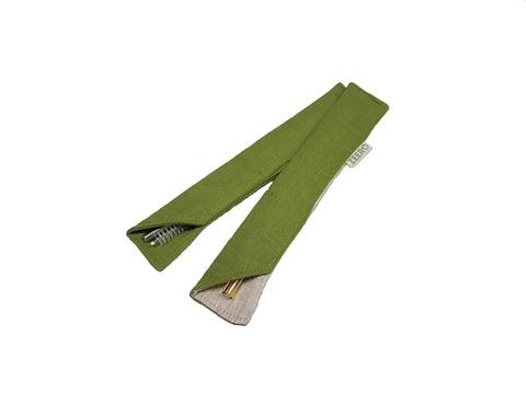 Сумочка для трубочки (зеленая)