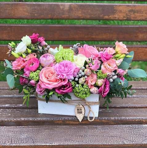 Цветы в ящике (8 сортов)