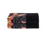 Полотенце 75x150 Feiler Papillon черное