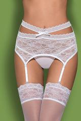 Пояс для чулок Swanita garter belt White