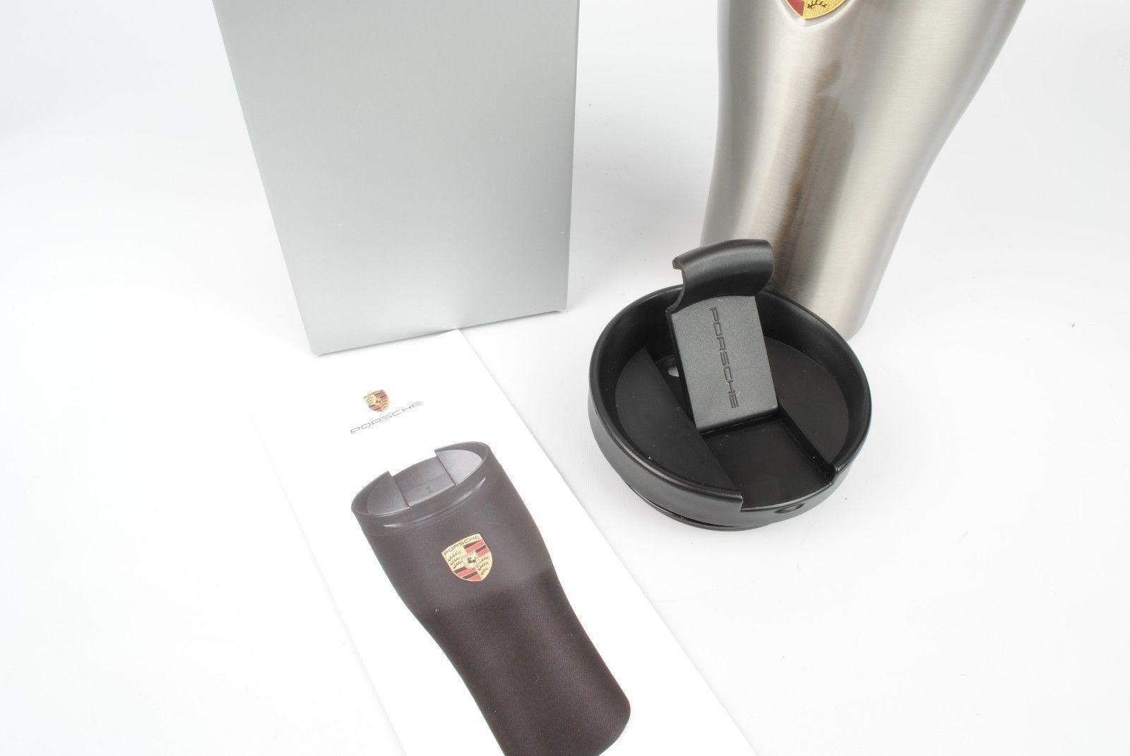 Термокружка Porsche Silver