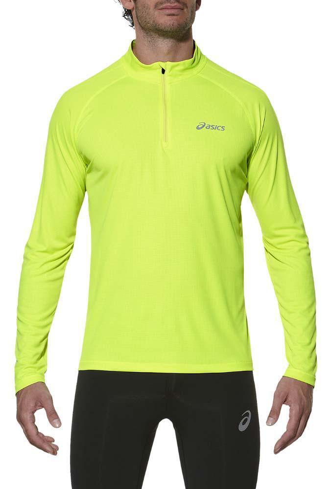 Мужская рубашка для бега  Asics Ls 1/2 Zip Top (110410 0392) фото
