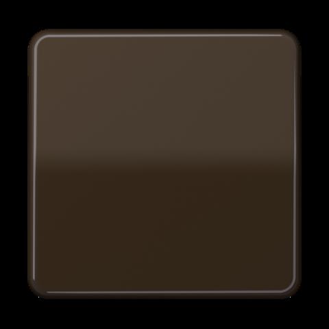 Выключатель одноклавишный. 10 A / 250 B ~. Цвет Коричневый. JUNG CD. 501U+CD590BR