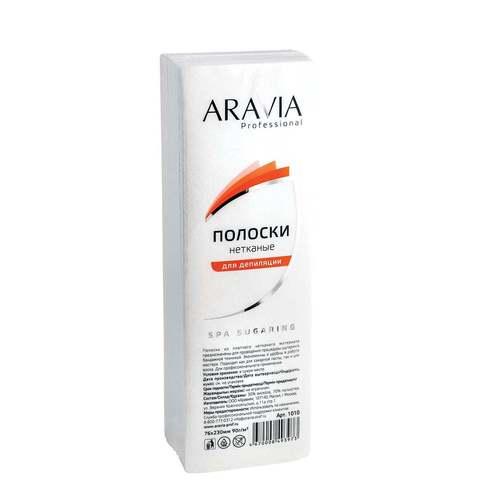 Aravia Professional Полоски нетканые для депиляции 76х230 мм 90 г/м 100 шт./уп.