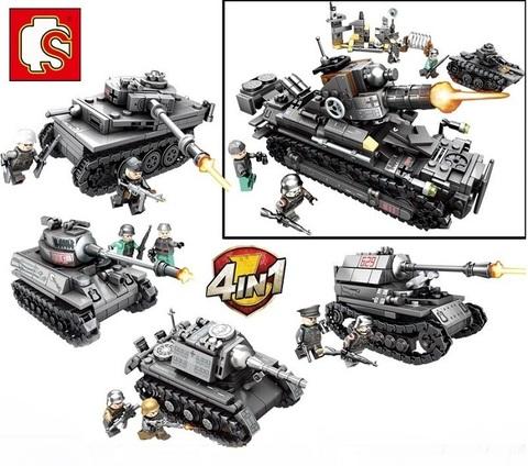 Конструктор серия Стальная империя Самоходный танк