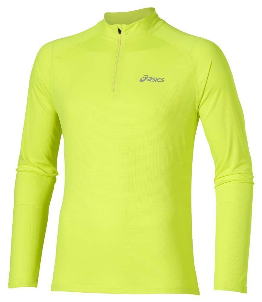 Мужская рубашка для бега  Asics Ls 1/2 Zip Top (110410 0392)