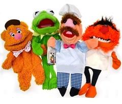 Куклы перчатки персонажи из Маппет Шоу