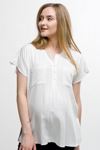 Блузка для беременных 11588 белый