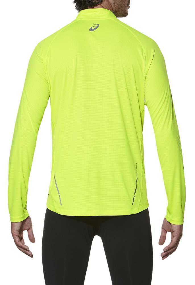 Мужская рубашка для бега  асикс Ls 1/2 Zip Top (110410 0392)