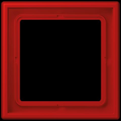 Рамка на 1 пост. Цвет Terre sienne brique. JUNG Les Couleurs® Le Corbusier. LC98132090