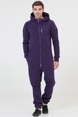 """Комбинезон """"SpaceSuit"""" мужской фиолетовый с начесом"""