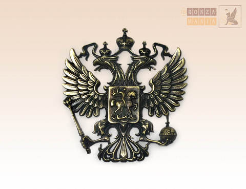 накладка Герб России 6х6 см