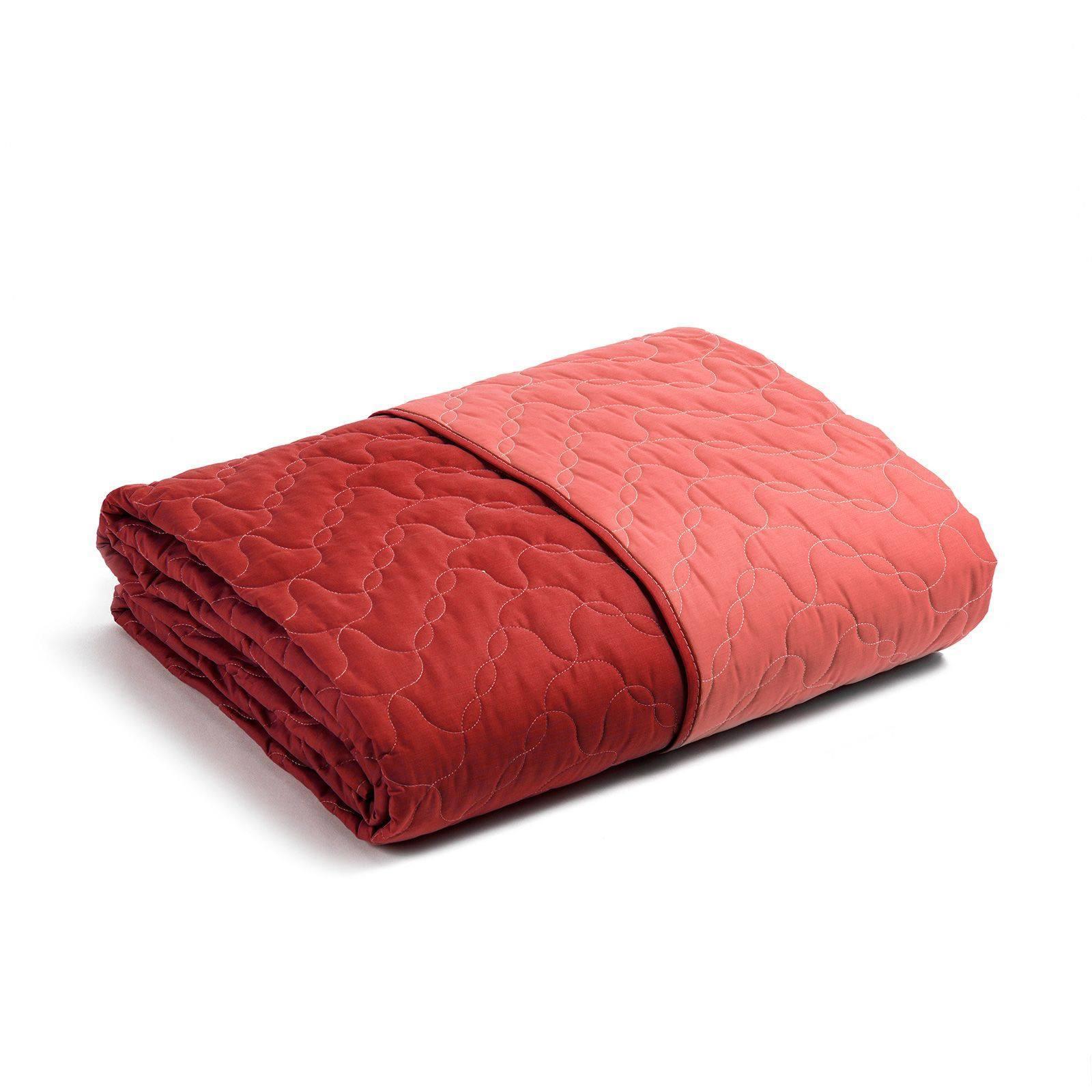 Покрывала Покрывало 220x270 Caleffi Mix Double красное pokryvalo-caleffi-mix-double-krasnoe-italiya.jpg