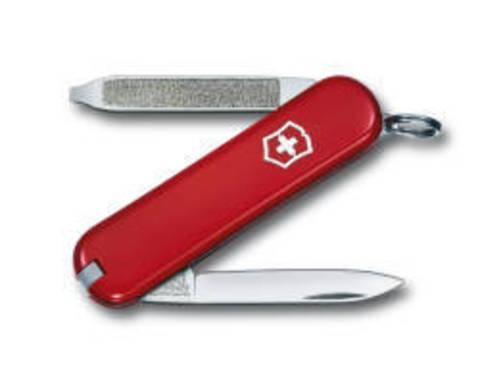 Нож-брелок Victorinox Classic Escort, 58 мм, 6 функций, красный*