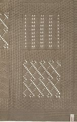 Плед-покрывало 130х170 Luxberry Imperio 7 темно-зеленый