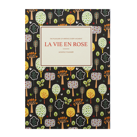 Планинг La vie en rose Brown