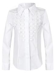 0249 блузка детская, белая