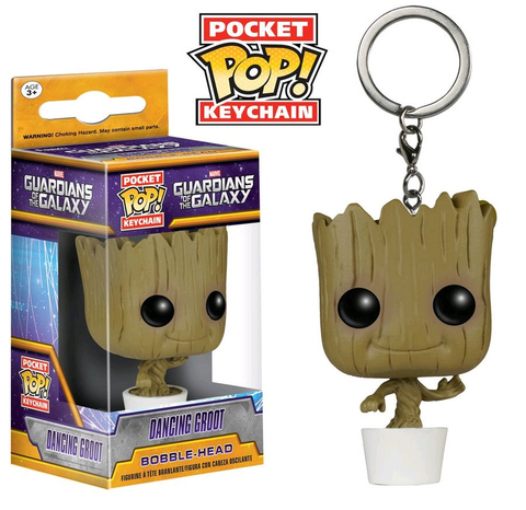 Брелок Funko Pocket POP! Keychain: Marvel: Guardians O/T Galaxy: Baby Groot 6715-PDQ
