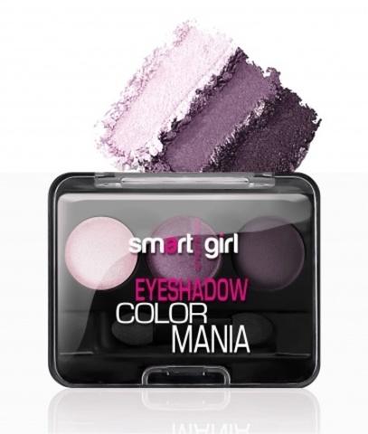 BelorDesign Smart Girl Тени для век 3-х цветные Color Mania тон 37