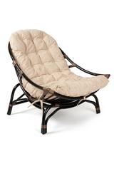 Кресло Винеция (VENICE) 5019 / без подушки / — Antique brown (античный черно-коричневый)