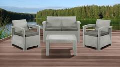 Комплект мебели IDEA SOFT SET (Grey)