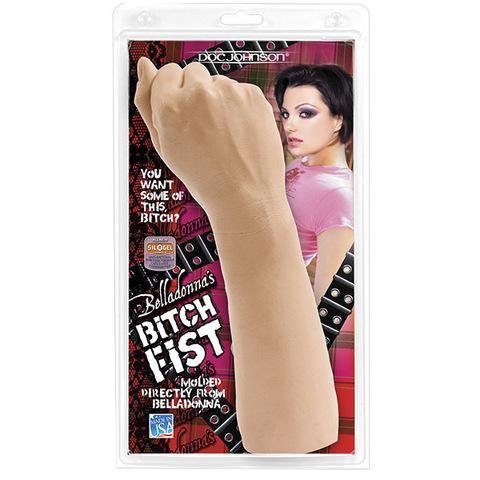Кулак для фистинга Белладонны Belladonna's - Bitch Fist (8 х 28 см)