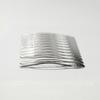 Гребень, основа для заколки 64х39 мм (цвет - платина)
