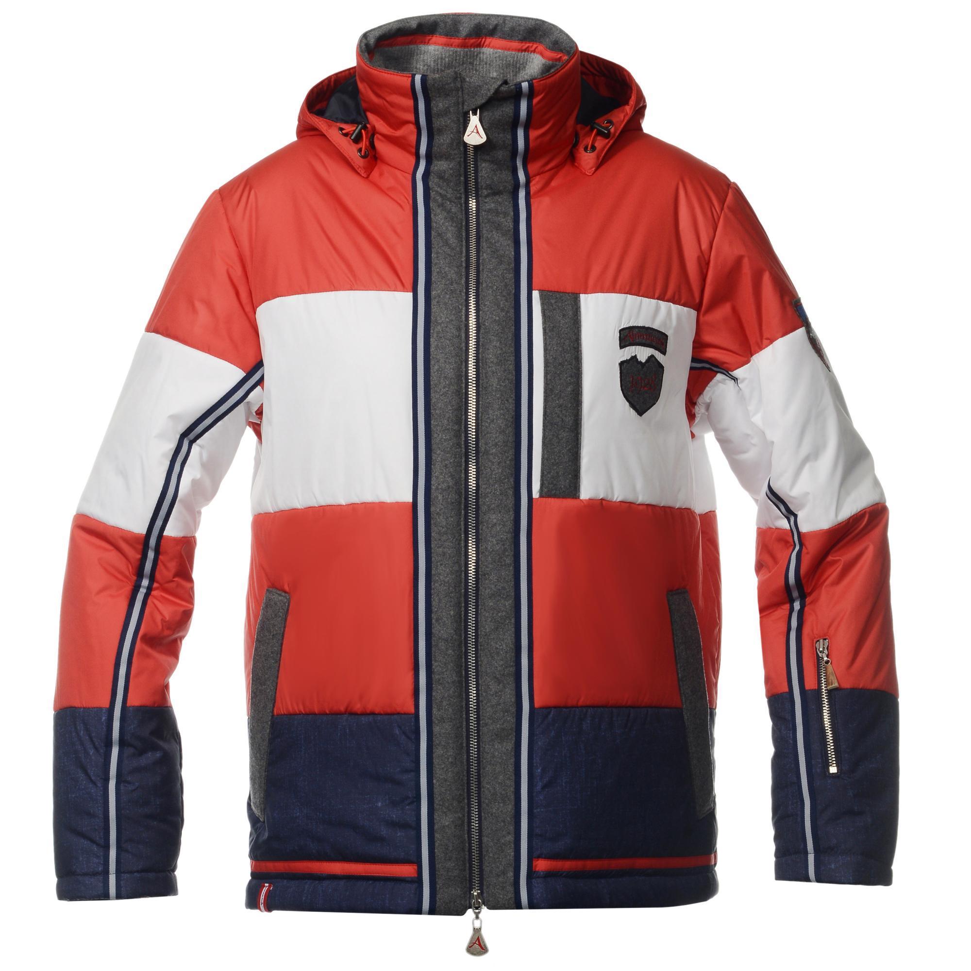 Мужская горнолыжная куртка Almrausch Steinpass 320109-1826 красная фото