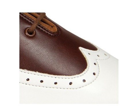 International, BESPOKE BROGUE - BROWN/WHITE