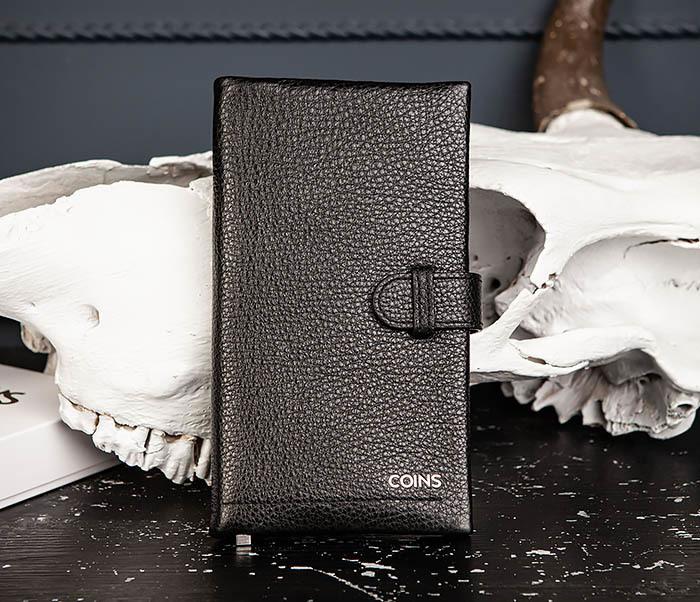 WL335-1 Мужское портмоне клатч из натуральной кожи «Hanz»