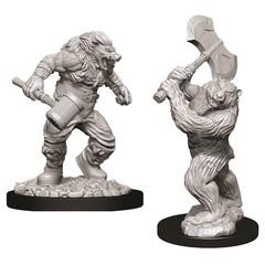 D&D Nolzur's Marvelous Miniatures - Wereboar & Werebear