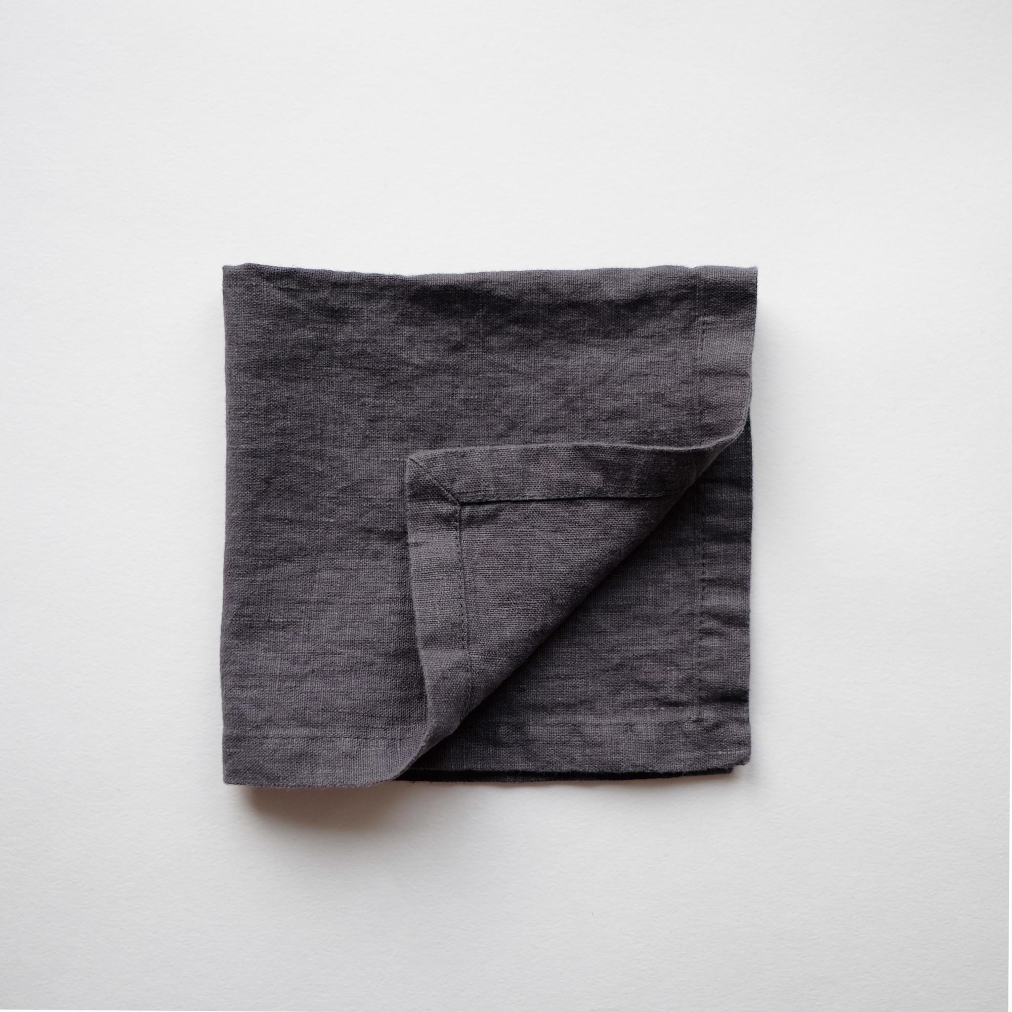 салфетка из умягченного льна