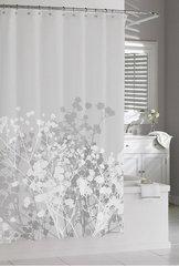 Шторка для ванной 183х183 Kassatex Willow Grey