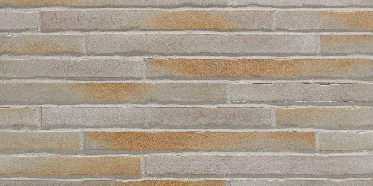 Stroeher - 450 gold-wiess, Riegel 50, сверхдлинная, 490x40x14 - Клинкерная плитка для фасада и внутренней отделки